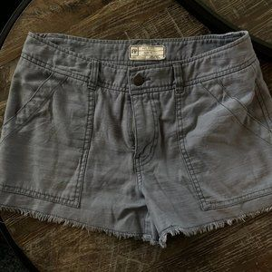 Free People Twill Shorts